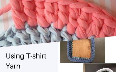 Using T-shirt Yarn – September 2020