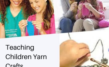 Teaching Children Yarn Crafts November 2020
