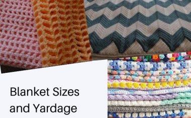 Blanket/Afghan Sizes June 2021