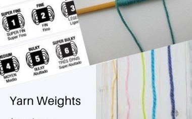 Yarn weight/ply August 2021