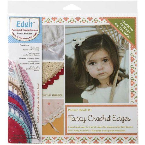 Fancy Crochet edges + Edgit Tool Set