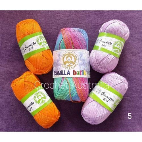 camilla batik 101 purple orange