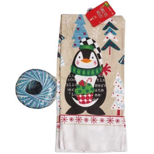 penguin towel kit